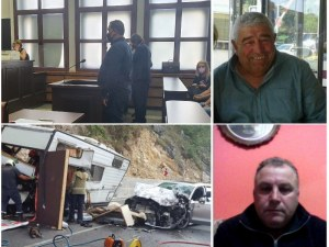 Шофьорът, убил в катастрофа двама рибари край Пловдив - с 22 глоби за нарушения на пътя