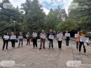 Жители на Брестовица блокират възлов булевард в Пловдив