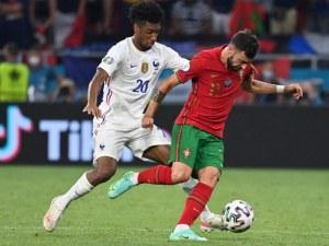 Франция и Португалия със зрелищно 2:2 в мач с три дузпи