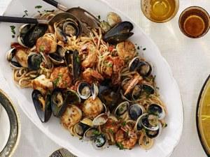 Класическа италианска рецепта за паста с морски дарове