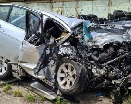 Шофьор загина при челен удар край Велико Търново