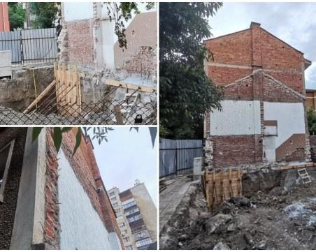 Две къщи–две страни: Защо след събарянето на имот в Кючука, съседи вече не спят спокойно
