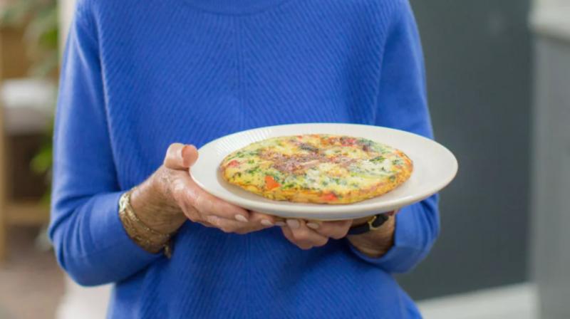 Готово за минути: Вегетарианска тортиля