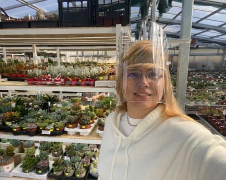 Наталия Елис - украинката, която пристигна в Пловдив с 50 000 кактуса и превърна хобито си в бизнес