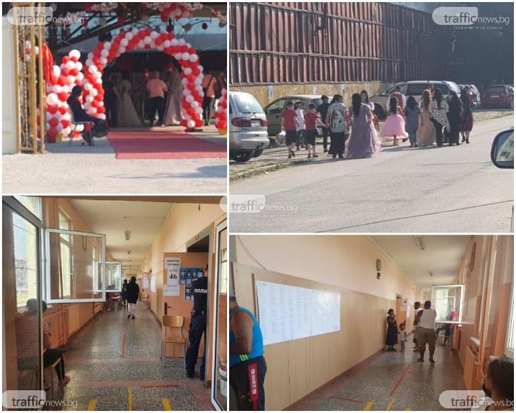 Столипиново не гласува, а танцува! Училищата празни, сватбените салони се пръскат по шевовете