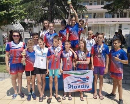 Плувците на Пловдив 2019 втори в комплексното класиране на Държавното в Сандански, Тереза Боом с уникално постижение