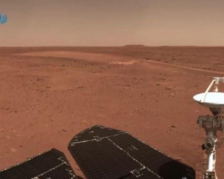 Показаха нови снимки от Марс