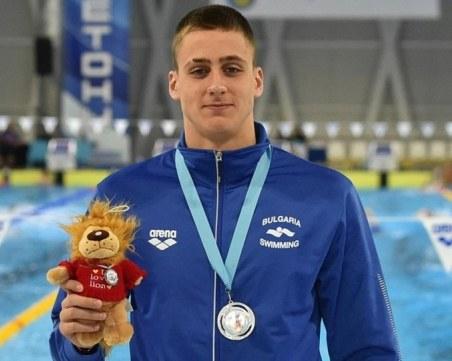 Пловдивските спортисти на Олимпиадата: Йосиф Миладинов - куршумът ни в плуването