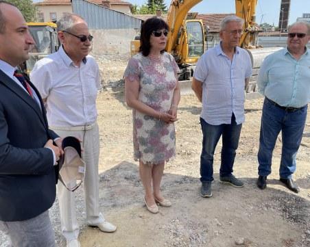 МУ – Пловдив започна изграждането на модерен корпус за 10 млн. лева
