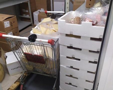Откриха 820 килограма месо с изтекъл срок на годност във фирма в Пазарджишко