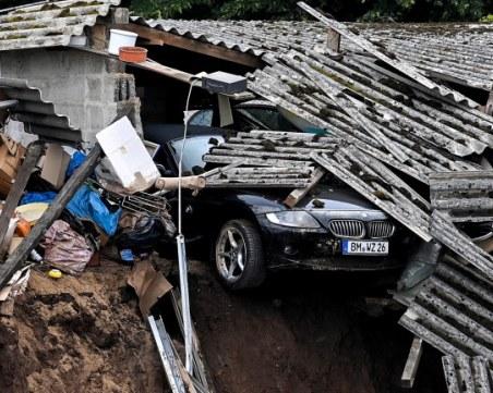 Поне 120 станаха жертвите на тежките наводнения в Западна Европа