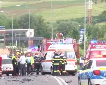 Няма пострадали българи при тежката верижна катастрофа с 55 коли в Румъния
