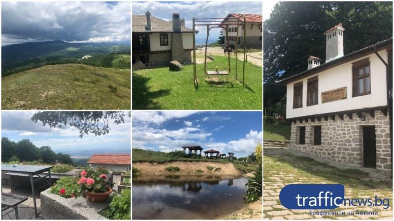 На 60 км от Пловдив: От хижа Бунтовна към връх Вълк, панорамни гледки и много история