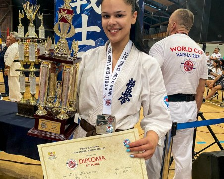 Студентка по медицина от Пловдив стана световен вицешампион