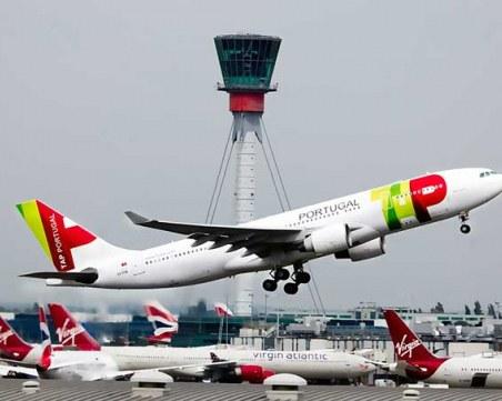 Стотици полети в Португалия бяха блокирани заради стачка