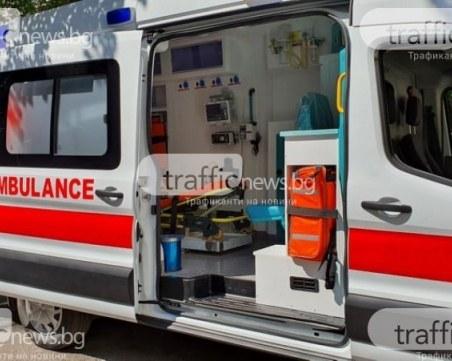 Кола на МВР помете дете край Пазарджик, момиченцето е в тежко състояние