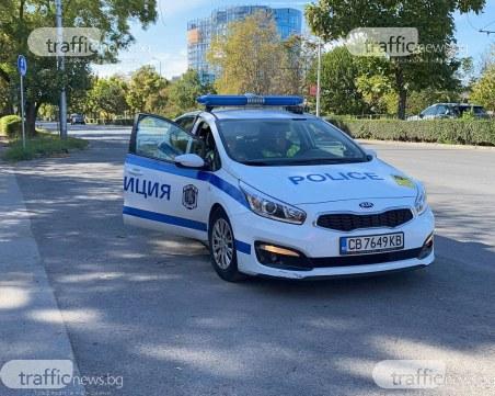 Полицаи погнаха неадекватен шофьор в Димитровград, той ги ухапа