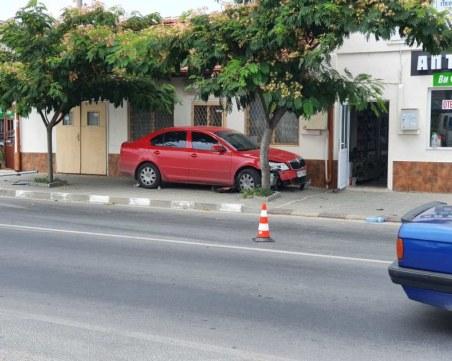Полицаят, блъснал дете край Пазарджик, изпреварвал с висока скорост спрелите коли