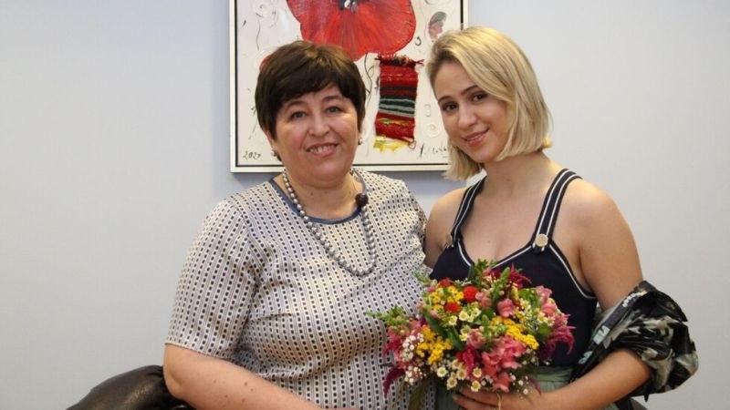 Мария Бакалова стана посланик на БГ туризма