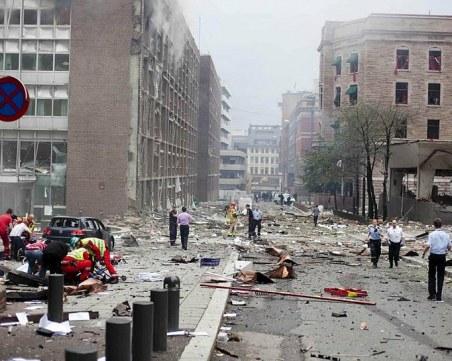 На този ден: 10 години от най-големия атентат в Норвегия