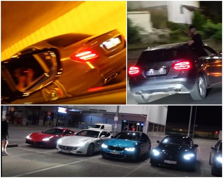 """Полицията проверява влогърите с мощни возила, превърнали Пловдив в писта от """"Бързи и яростни"""""""