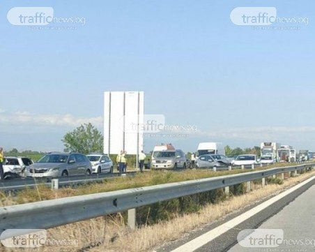 Верижно меле край Пловдив, винят полицаи за него