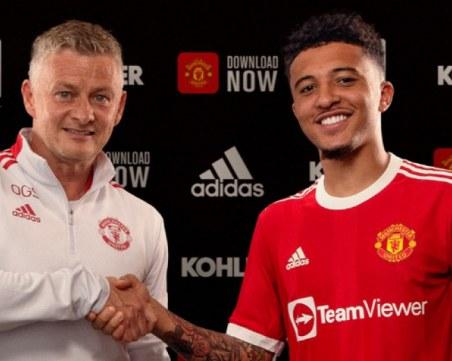 Юнайтед официално обяви трансфера на Санчо