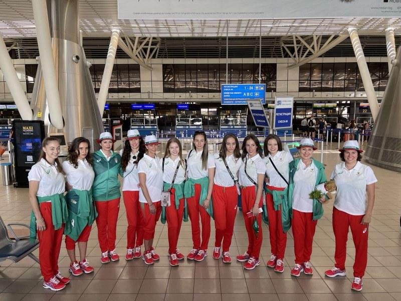 Българските гимнастички пристигнаха в Токио и проведоха първа тренировка
