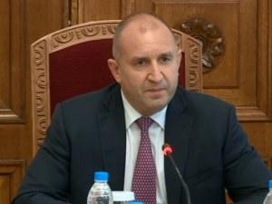 Румен Радев: От БСП зависи устойчивата подкрепа към съставянето на правителство