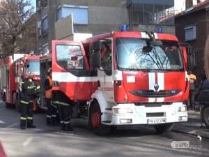 Забравена храна върху печка предизвика пожар в Смирненски