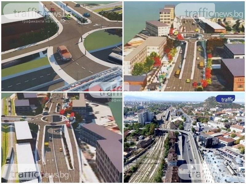 Внесоха проекта за нов Бетонен мост, ще е с връзка към Централна гара и кръгово на второто ниво