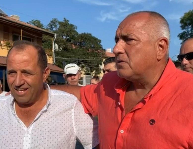Борисов към Христо Иванов: Не ви ли е срам да се целувате с червения сатрап Бойко Рашков