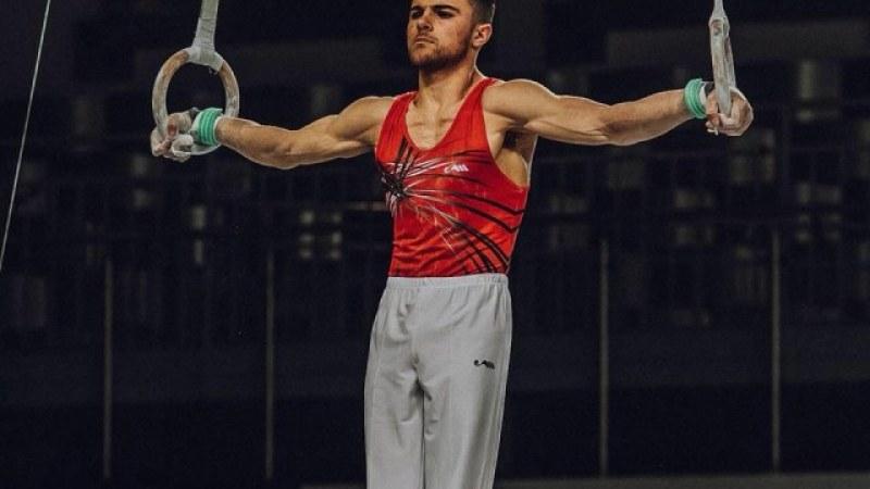 Контузия попречи на Дейвид Хъдълстоун да преодолее квалификациите в гимнастиката