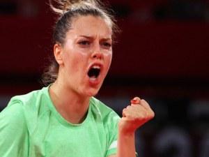 Страхотна Полина Трифонова с втора поредна победа в тениса на маса в Токио