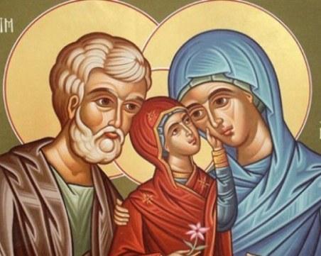Почитаме Св. Анна – покровителка на брака и закрилница на жените