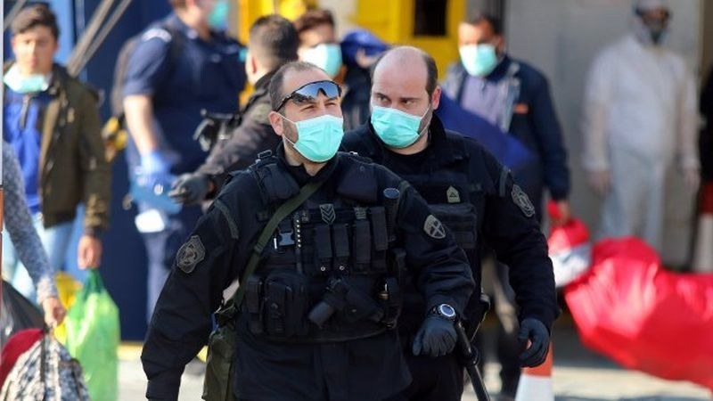 2070 нови случая на коронавирус в Гърция за ден