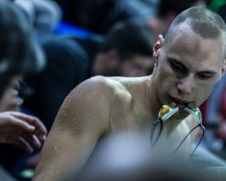 Антъни Иванов отпадна, не успя да се класира за полуфиналите на бътерфлай