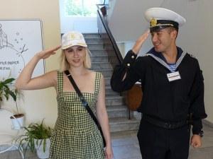 Мария Бакалова става кръстницата на кораб