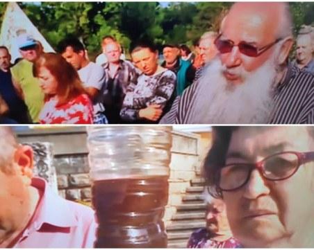 Решават до есента проблема с безводието в Кръстевич, хората излязоха на протест