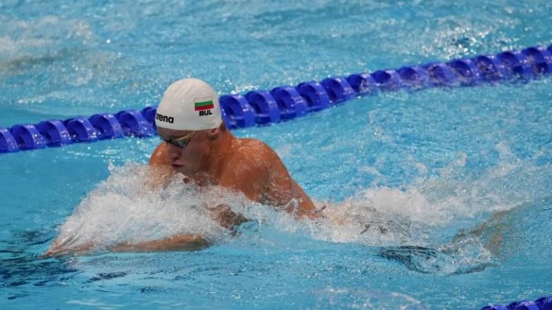 Любомир Епитропов се класира за полуфиналите на 200 метра бруст