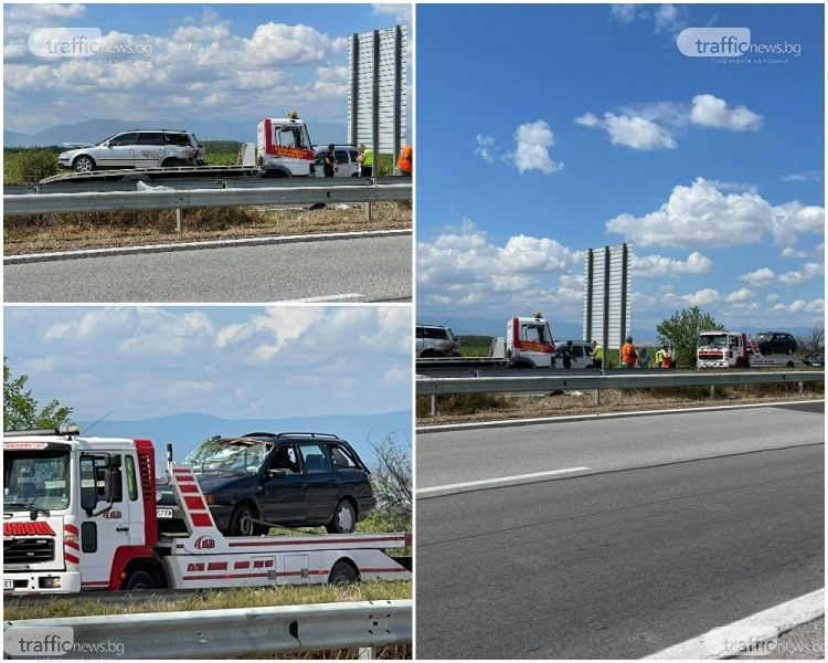 Гонкаджията, предизвикал мелето на магистралата край Пловдив, участвал в канал за трафик на мигранти