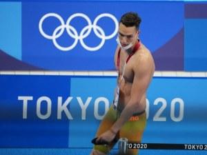 Калоян Левтеров отпадна от плуването на 200 метра