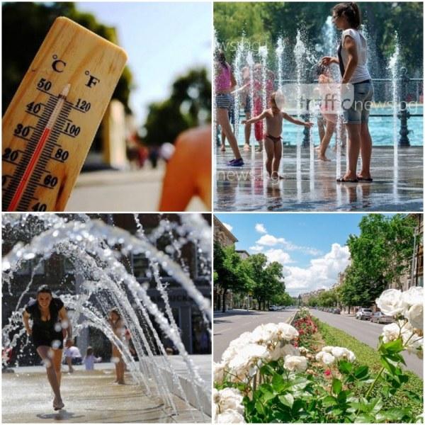 В екстремните горещини: Пийте поне 3 литра вода и не стойте прави