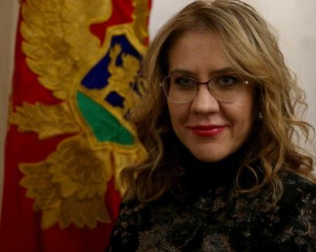 Черногорският министър Весна Братич е изписана от болница