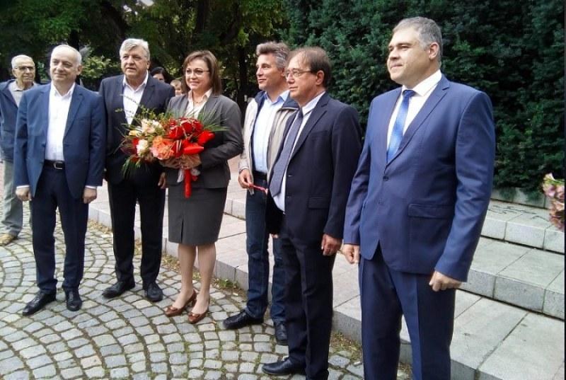 БСП в Пловдив искат оставката на Нинова, участието й в преговорите с ИТН било шантаж