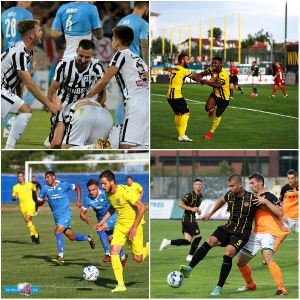 След 12 години отново четири пловдивски отбора в професионалния футбол