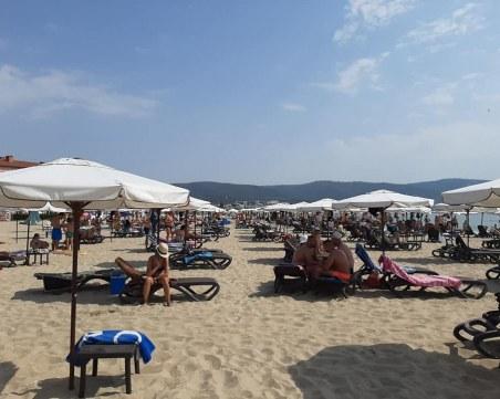 На Южното Черноморие: От 1,20 млн. места за настаняване, всички са заети
