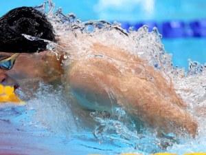 Пловдивският плувец Йосиф Миладинов остана осми във финала на 100 м. бътерфлай в Токио