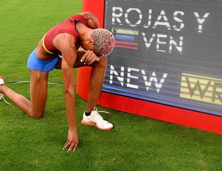 Падна още един 26-годишен рекорд на Олимпиадата, венецуелка грабна златото при тройния скок