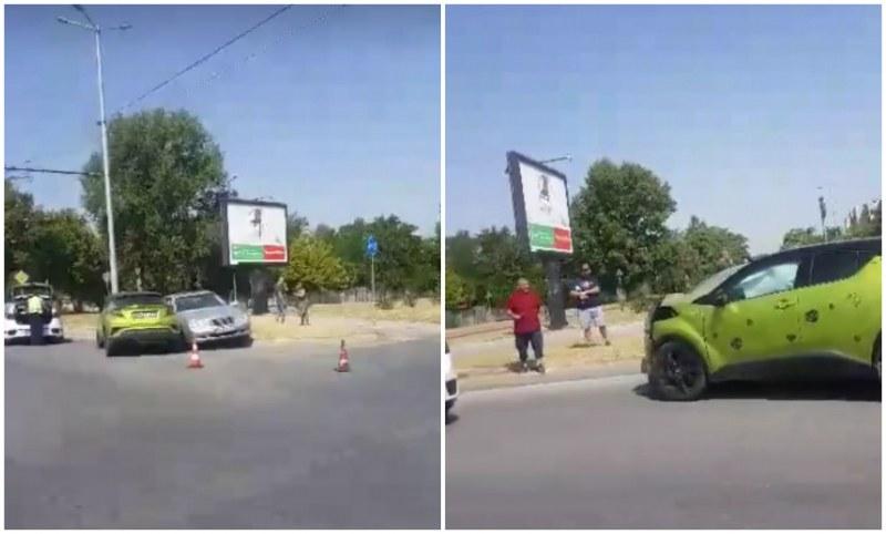 """Катастрофа затрудни движението на бул. """"Освобождение"""